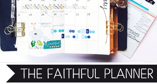 The Faithful Planner