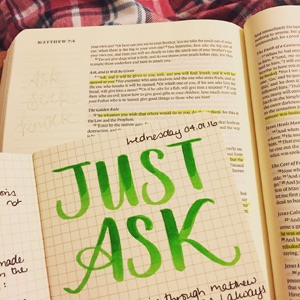 Bible Journaling with Grace & Salt ink