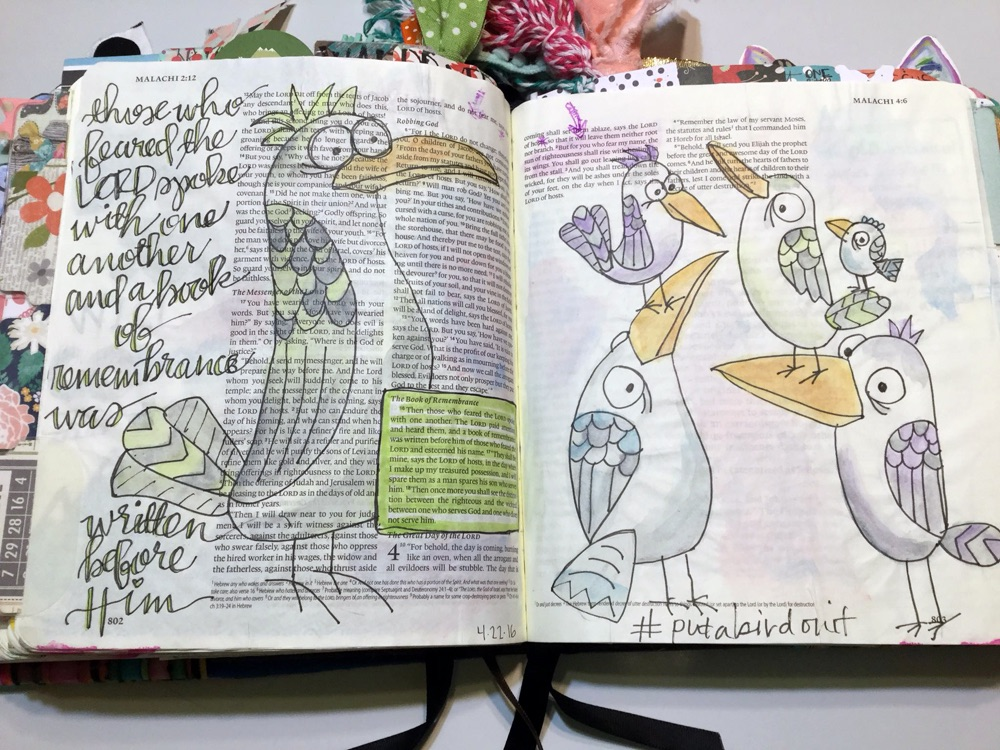 Bible Journaling with Grace & Salt ink | Bible Art