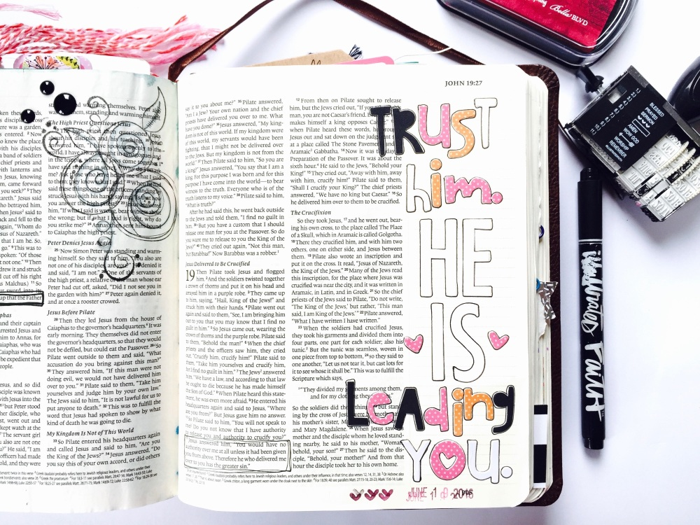 Bible Journaling with Grace & Salt ink | inkDori | Tawni Sattler