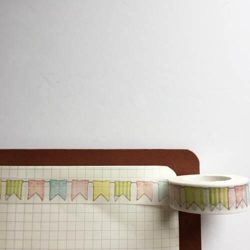 Cute Bunting Washi Tape