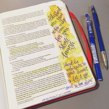 Bible Journaling with Grace & Salt ink | inkDori