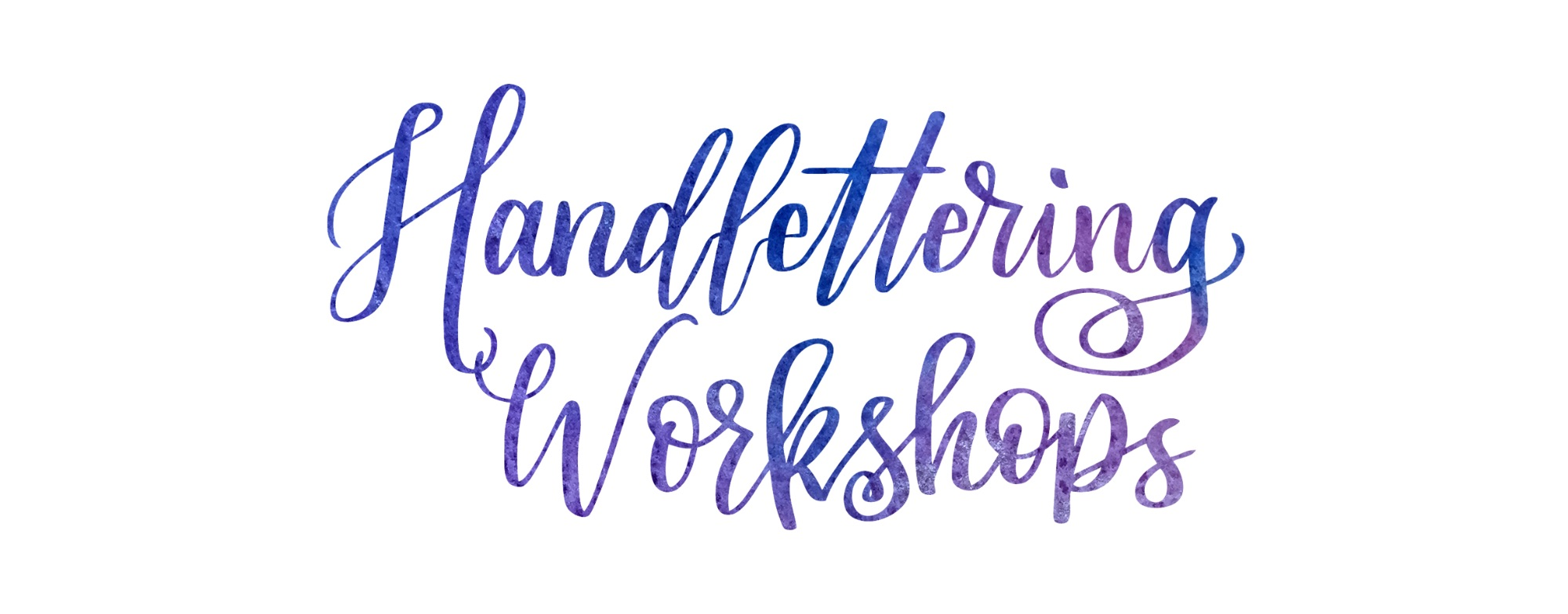 Handlettering Workshops