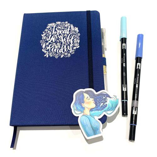 Blue-Sticker