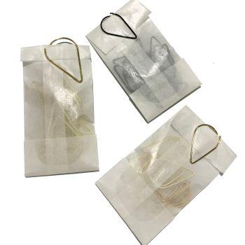 Teardrop Paperclips x10