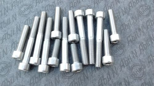 Stainless Steel timing cover bolt kit for BMW R 1200 GS , 1200 RT , 1200 ST