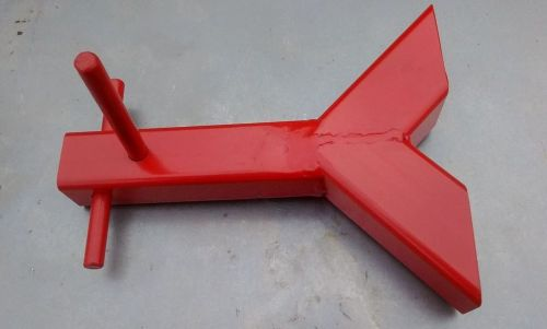 Y- Shaped High Security Ground Anchor To Concrete/ Cement In- Fits 40mm Cha