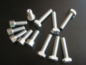 Stainless Steel Engine Bolt Kit for Ducati Monster 600 & Monster 750