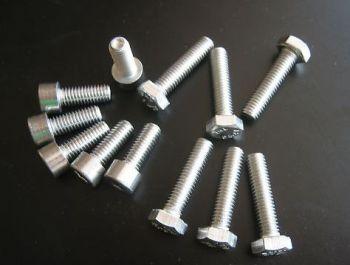 Stainless Steel Engine Bolt Kit for Kawasaki Versys KLE 650, 2007 onwards