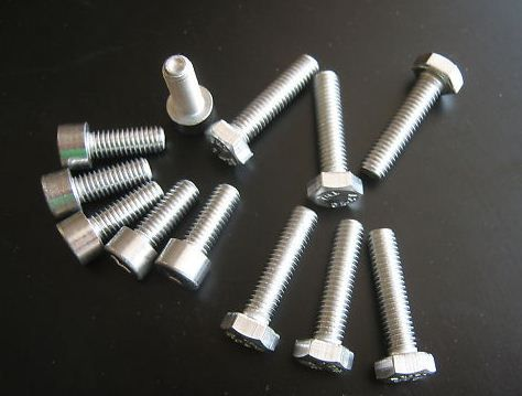 Stainless Steel Engine Bolt Kit for Suzuki GSX 600 - 750 F from 1999 onward