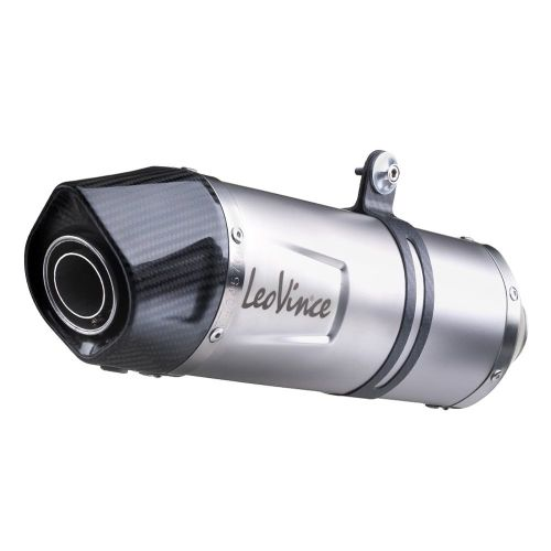 Leo Vince slip on exhaust for Honda CRF 1000, Africa Twin, 2016, stainless