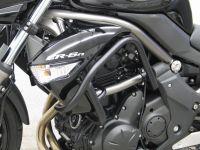 Engine bars, upper crash bars for Kawasaki ER 6N/F (ER 650 C/ EX 650 C) from 2009-  2011