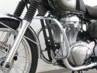 Chrome engine bars, upper crash bars for Kawasaki W 650 (EJ650A), 1999- 2006 & W 800 (EJ800A) from 2011 onwards