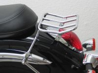 Luggage carrier for Kawasaki VN 900 Classic (VN900B) from 2006 onwards, chrome