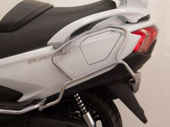 Protection Guard, Rear for Suzuki AN650 Z Burgman Executive in chrome, 2013 onwards