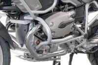 Engine bars, crash bars, silver, BMW R 1200 GS, 2004- 2012