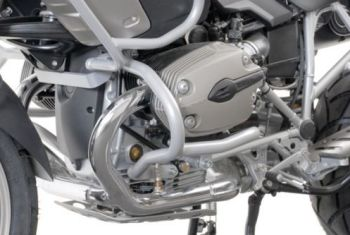 Engine bars, crash bars, silver, BMW R 1200 GS, 2004- 2012