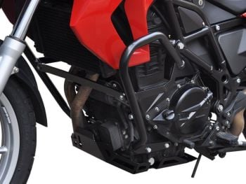 Engine bars, crash bars, black, for BMW F650 GS and F800 GS from 2008- 2013