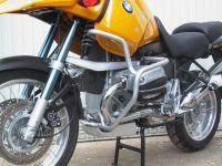Engine bars, crash bars, silver, BMW R 1150 GS, 1999- 2004