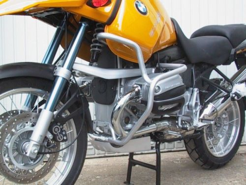 Engine bars, crash bars, silver, BMW R 1150 GS, 1999- 2004