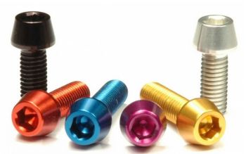 CNC machined Aluminium Engine Bolt kit KTM SuperMoto, LC8, in various colours