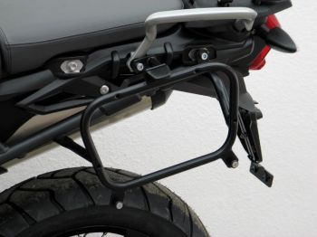 Pannier Racks for Triumph Tiger 800 and Tiger 800 XC from 2015 onwards for Givi/Kappa (Monokey)