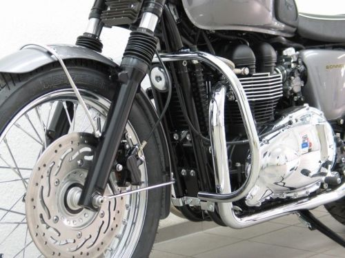 Engine bars,  crash bars for Triumph Bonneville (T 100 & SE) from 2005- onw