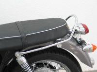 Seat Rail for Triumph Bonneville (T 100 & SE) from 2005- onwards & Triumph Scrambler, chrome