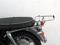 Top case carrier for Givi/ Kappa Monokey Cases, Triumph Bonneville (T 100 & SE) from 2005- onwards, chrome