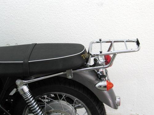 Top case carrier for Givi/ Kappa Monokey Cases, Triumph Bonneville (T 100 &