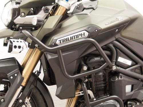 Engine bars, off-road crash bars for Triumph Tiger Explorer from 2012 onwar