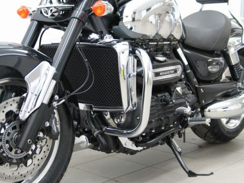 Engine bars, crash bars for Triumph Rocket III Roadster, from 2010 onwards