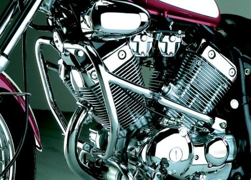 Chrome engine bars, upper crash bars for Yamaha XV 535 Virago from 1988- 20