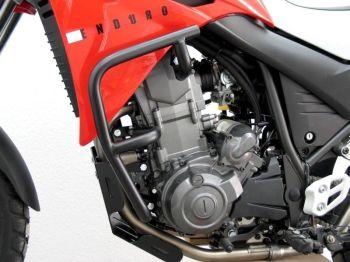 Engine Bars, Crash Bars for Yamaha XT 660 R and XT 660 X, black, from 2004 onwards