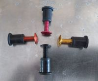 Screen Bolt Kit, in stainless steel and anodised coloured bolt options. 4 bolts, for Kawasaki Z 650, 2017 onwards