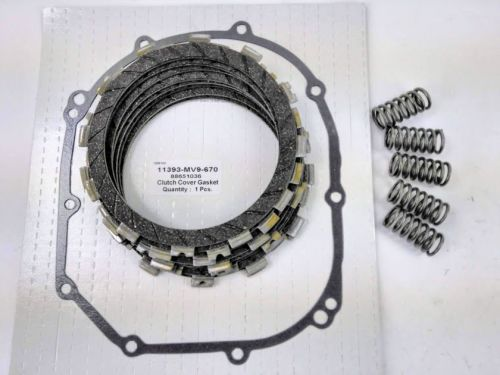 Clutch Repair Kit, EBC & clutch gasket, springs for Honda CBR 600 F, 1991-