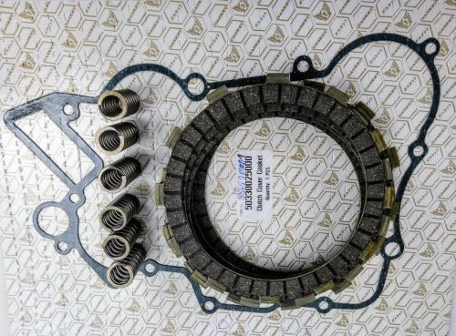 Clutch Repair Kit, EBC & clutch gasket, springs for KTM EXC 200 from 1998-