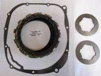 Clutch Repair Kit, EBC & clutch gasket, springs for Yamaha XJR 1200, 1995- 1998