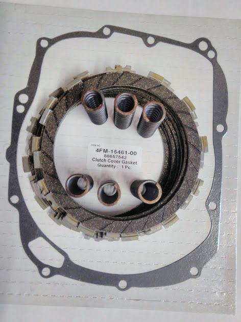 Yamaha YZF 1000 R Thunder Ace Clutch Repair Kit from EBC , clutch gasket &
