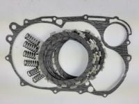 Clutch Repair Kit, EBC & clutch gasket, springs for Yamaha XV 750 Virago from 1981- 1997