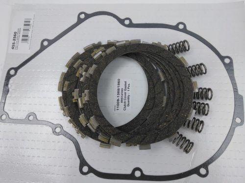 Clutch Repair Kit, EBC & clutch gasket, springs for Kawasaki GTR 1000 A fro