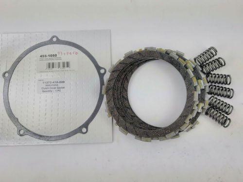 Clutch Repair Kit, EBC & clutch gasket, springs for Honda CX 500, 1977- 198