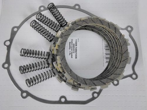 Kawasaki GPZ 500 Clutch Repair Kit, EBC plates & clutch gasket, springs 198