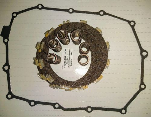 Clutch Repair Kit, EBC & clutch gasket, springs for Honda VT 750 C & C2 Sha