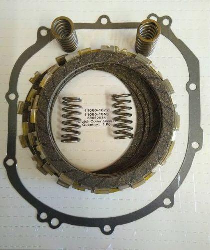 Clutch Repair Kit, EBC & clutch gasket, springs for Kawasaki ZX6 R 600 from