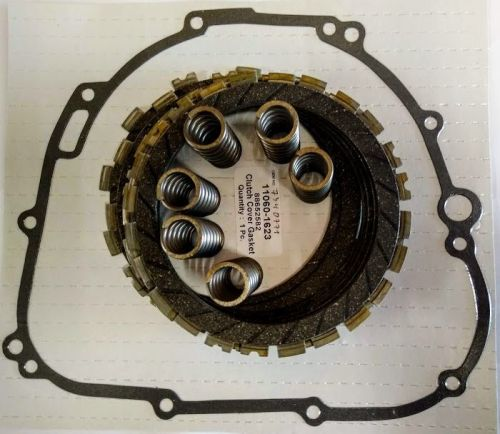 Clutch Repair Kit, EBC & clutch gasket, springs for Kawasaki ZX-9R 900 B Ni