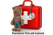 paediatric first aid trained