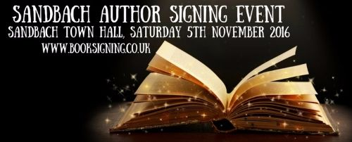 Sandbach Author Signing Event 500w
