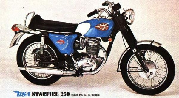 bsa 250 Starfire