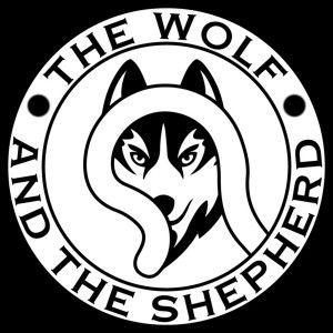 Wolf and shepherd